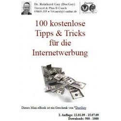 100 kostenlose Tipps & Tricks für die Internetwerbung