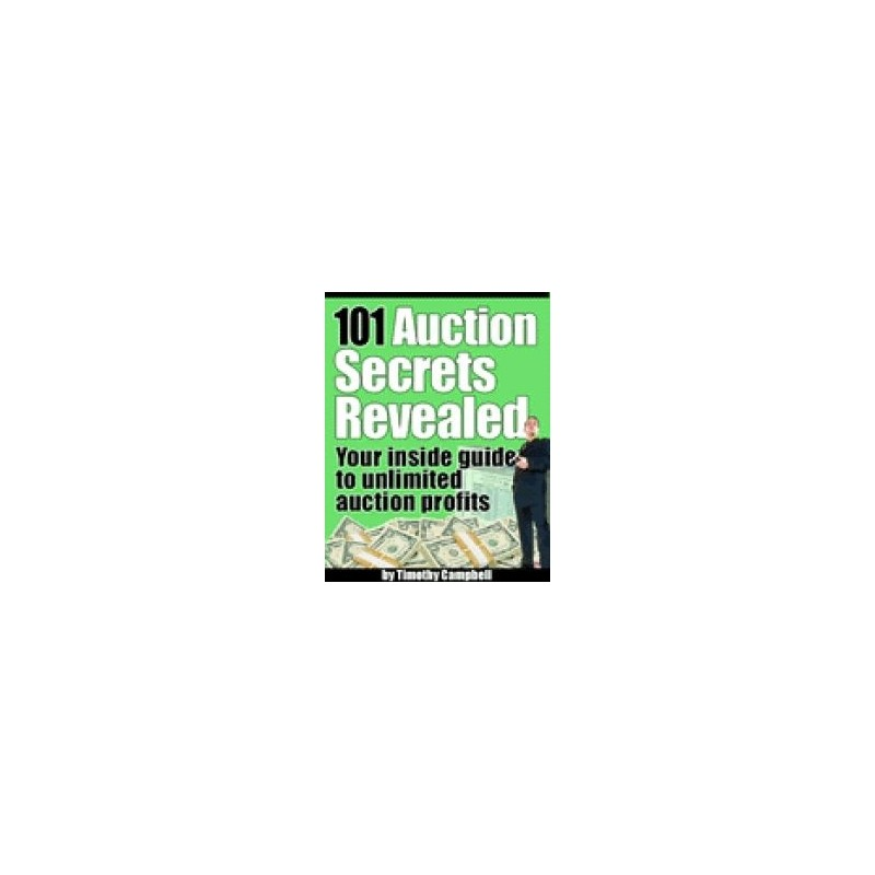 Auction Secrets Revealed