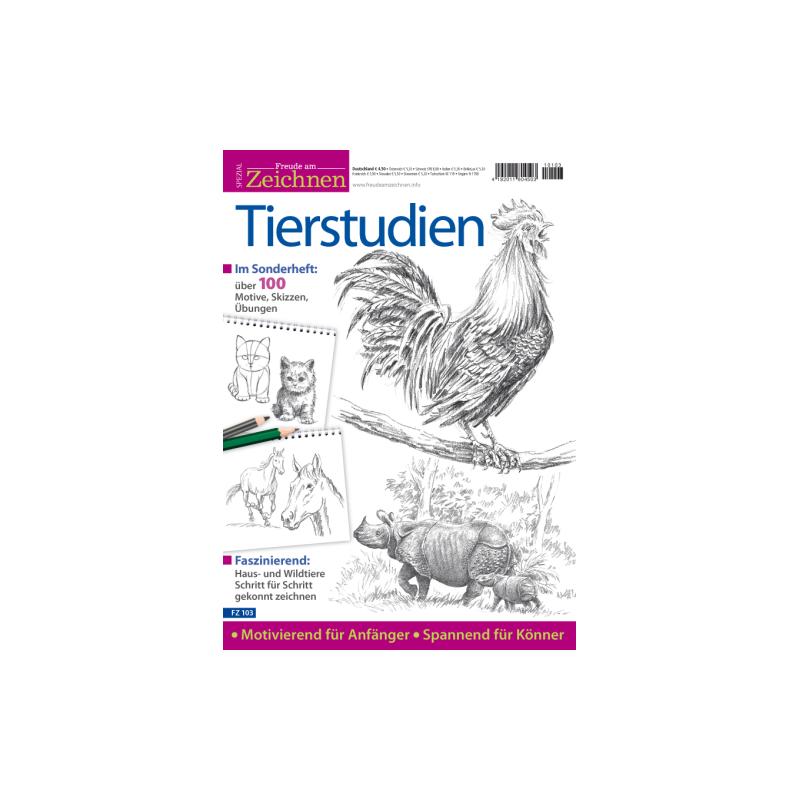 Freude am Zeichnen Spezial 103: Tierstudien
