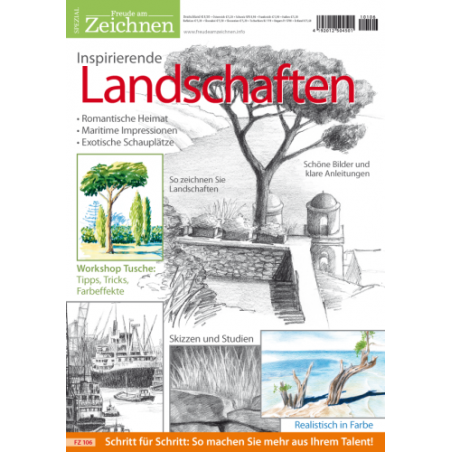 Freude am Zeichnen Spezial 106: Inspirierende Landschaften