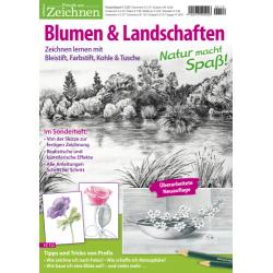 Freude am Zeichnen Spezial 112: Blumen & Landschaften