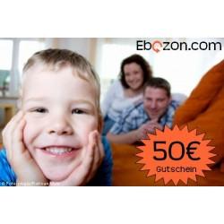 eBook Gutschein 50€