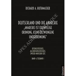 """Deutschland und die Anarchie: """"Anarchie ist eine freiwillige Ordnung, keine erzwungene Unterordnung"""""""
