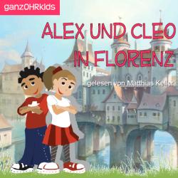 Alex und Cleo in Florenz